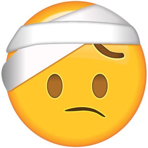 face  head bandage emoji emoji island