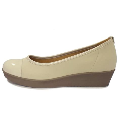 Wedges Rm 69 Wedges Belang gabor shoes orient beige leather wedge shoes mozimo