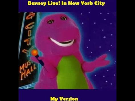 I Am In New York City For My Appearance On The Mar Snarkspot by Barney Live In New York City My Version