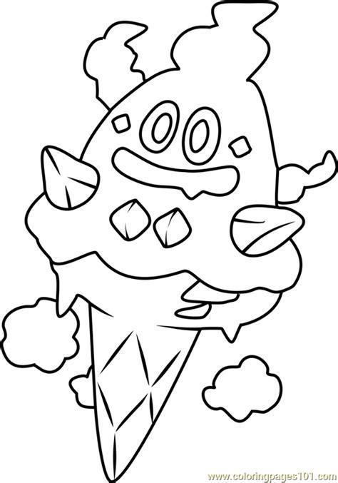 pokemon vanillite coloring pages vanillish pokemon coloring page free pok 233 mon coloring