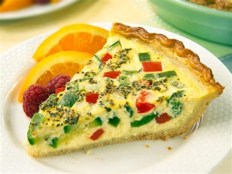vegetables quiche recipe chicken and vegetable quiche recipe dishmaps