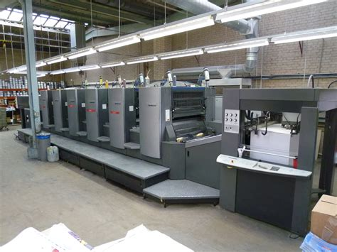 Plate Name Heidelberg Original six colour used offset printing machines heidelberg cd 102 6 offset