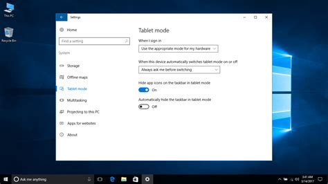 windows 10 tutorial touch screen windows 10 tutorial enable or disable tablet mode
