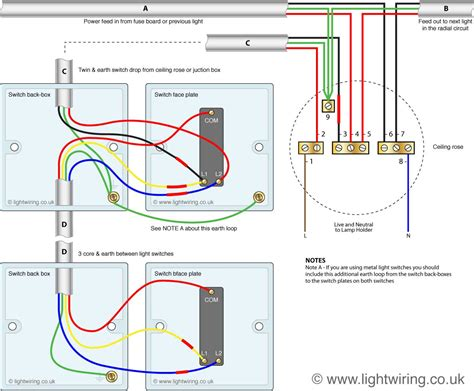 2 way switch light wiring
