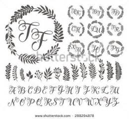 Monogram Letters Template by Monogram Letters Template Www Pixshark Images