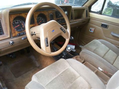 car manuals free online 1987 ford ranger interior lighting 1987 ford ranger custom extended cab pickup 2 door 2 9l slt manual 4x4