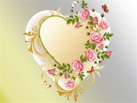 wallpaper flower with heart flower heart full hd wallpaper and background 2133x1600