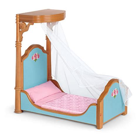 American Doll Canopy Bed by American Half Canopy Bed Nib Grace Cecile
