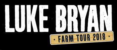 luke bryan north augusta luke bryan unveils lineup for farm tour 2018 allaccess