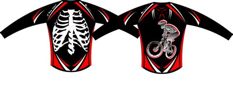 design jersey mtb free mountain bike vector for your downhill t shirt or jersey