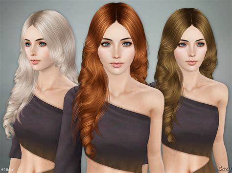 sims 3 custom content fringe hairstyle cazy s lisa hairstyle b sims 3
