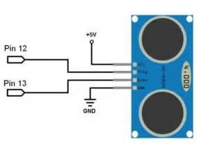 Hc sr04 ultrasonic distance measurement sensor module