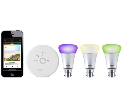 hue lights starter kit philips hue wireless bulbs starter kit b22