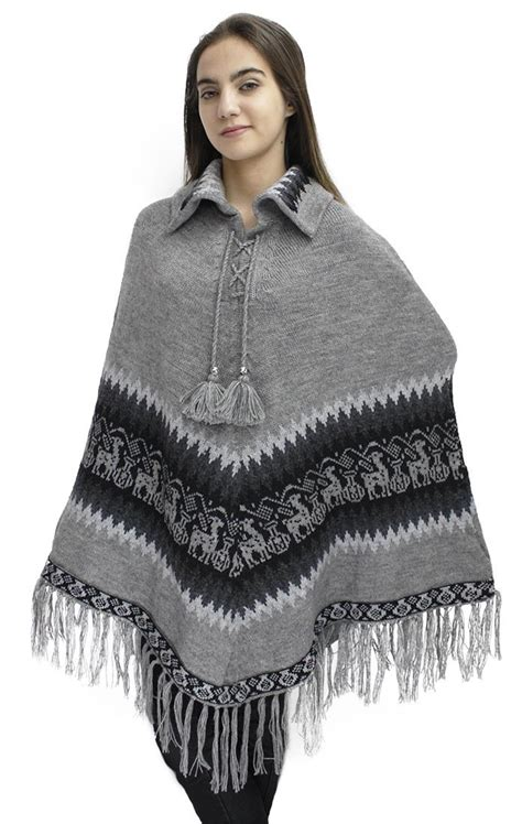 knitted cape poncho s alpaca wool collar poncho cape knitted knit yarn