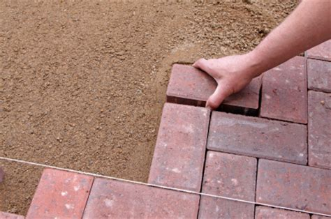 Install Patio Pavers by How To Install A Laid Paver Patio Buildipedia