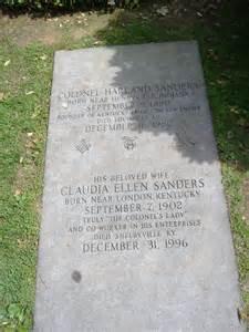file colonel sanders grave 3 jpg wikimedia commons