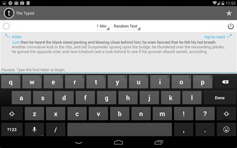 7 special apps to quickly improve your typing speed typist a quick typing test aplicaciones de android en
