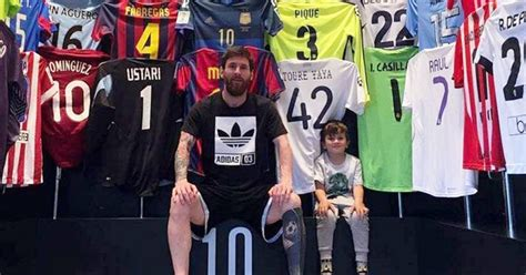 you cannot stop lionel messi football world drools over no sign of cr7 lionel messis unreal jersey collection is