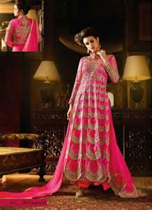 Home salwar kameez pink chiffon party wear salwar suit