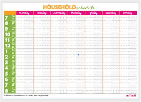 7+ family weekly calendar template | financial statement form