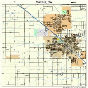 map of madera california madera california map 0645022