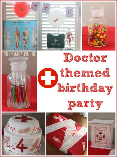 doctor themed birthday ideas and the - Themed Birthday Decorations