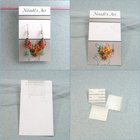 Diy Earring Card Template by Handmade Business Pretty Diy Earring Cards