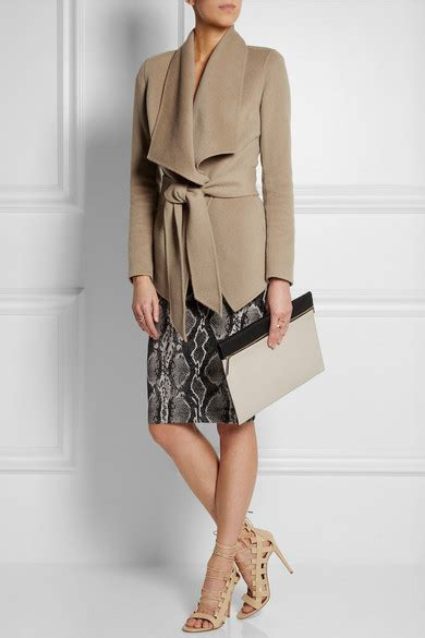 New From Net A Porter by Donna Karan New York Belted Jacket Net A