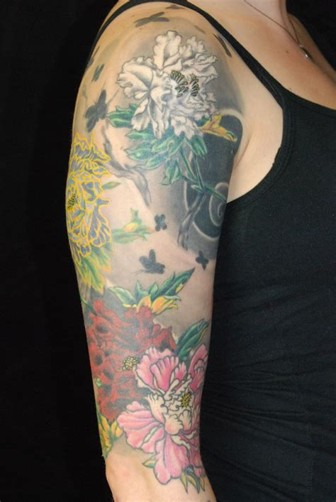 tattoo japanese wind japanese peony and wind tattoo by josh sharpe at under the