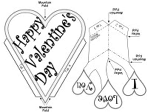 black and white valentines day card template free s day pop up card