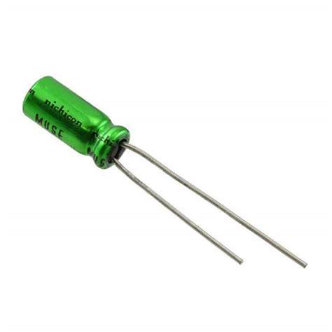 nichicon es capacitors ues1c100mdm1td nichicon capacitors digikey