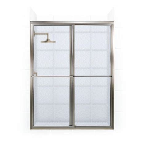 Coastal Shower Doors Newport Series 42 In X 70 In Framed Shower Door Bar