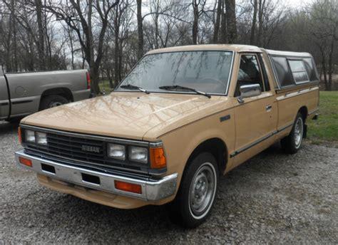 nissan datsun 1984 1984 nissan datsun 720 standard cab bed truck