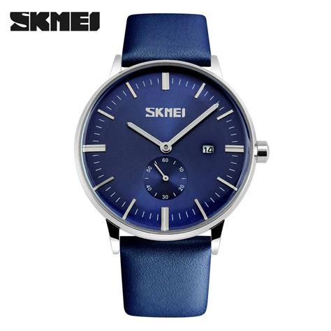 Jam Tangan Analog Skmei skmei jam tangan analog pria 9083cl blue