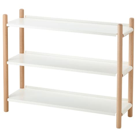 ikea wall shelving ikea ps 2017 shelving unit beech white 90x74 cm ikea