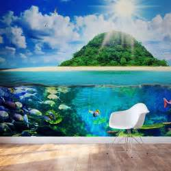 sea life wall murals island sea life wall mural