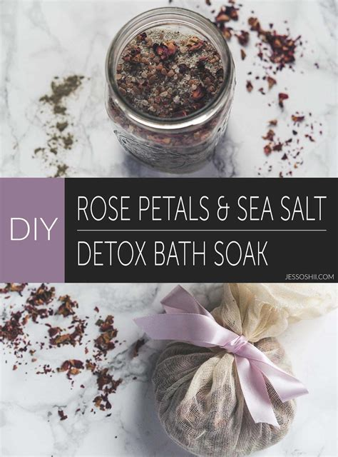 Sea Salt Detox Bath Recipe by 15 Ways To Diy Your Own Detox Bath