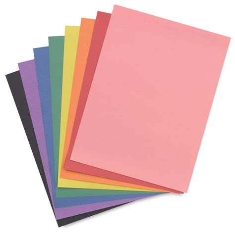What To Make With Coloured Paper - crayola construction paper packs blick materials