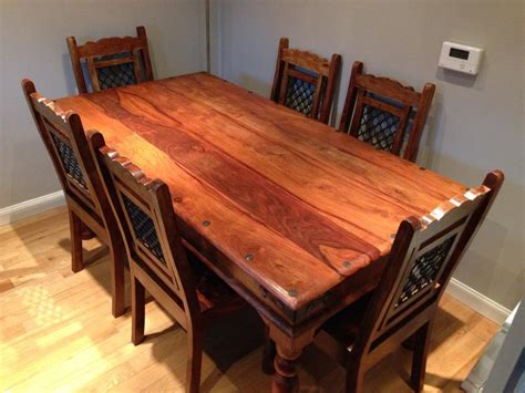 Dark Wood Dining Table And 6 Chairs For Sale United Wooden Dining Tables For Sale