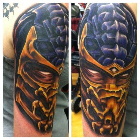 mortal kombat tattoo designs mortal kombat tattoos 20 deadly mk designs