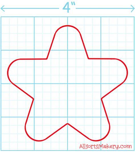 felt shape templates felt peppermint allsorts