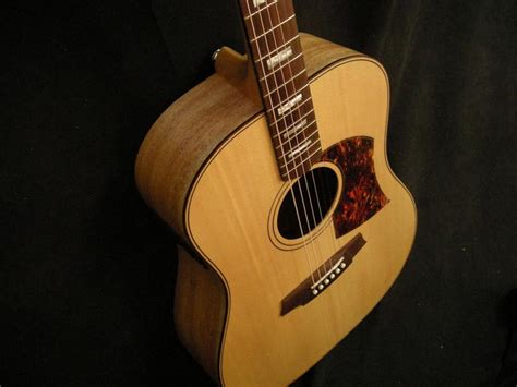Gitar Cole Clark Australia Neck Maple paramount guitars instrument detail cole clark fl2a