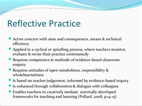 Reflective Practice In Teaching Essay by A Reflective Essay On Teaching Practice Essay For You