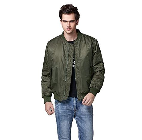 Bomber Jacket Hitam Cokelat Abu Navy neo wows s ma 1 slim fit bomber flight jacket thick green xx large buy in uae