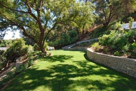 uphill backyard landscaping terraced uphill backyard backyard ideas pinterest