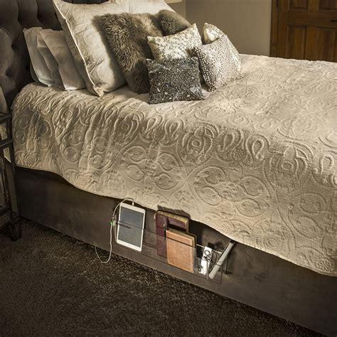 bedside storage bedside organizer