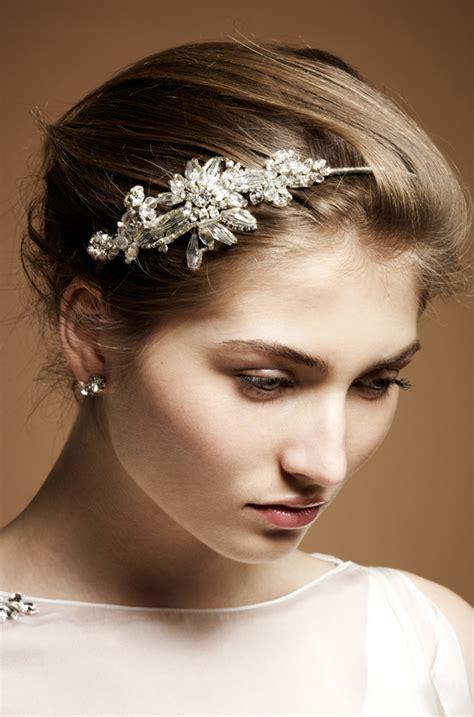 Vintage Inspired Wedding Hairstyles by Vintage Inspired Bridal Barette In Wedding Hairstyle