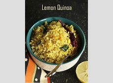 Lemon quinoa recipe, Indian style lemon quinoa recipe Lemon Rice Recipe South Indian Style