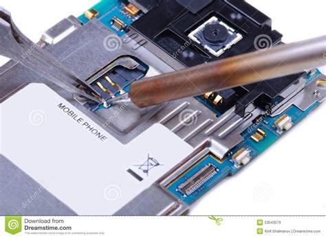 mobile phone repairs mobile phone repair stock photo image 53043079