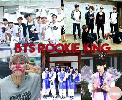 bts rookie king 17 bts shows that you should watch army s amino